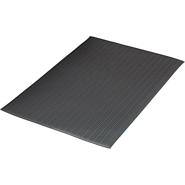 Guardian Air Step Polypropylene Anti-Fatigue Mat, 144in.L x 36in.W, Black
