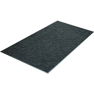 Guardian Golden Polypropylene Dual Rib Indoor Wiper Mats, Charcoal
