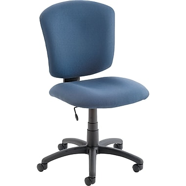 Global Supra X 100% Polypropylene Mid Back Task Chair, Ocean