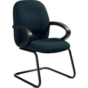 Global Enterprise® 100% Polypropylene Side Arm Chair, Ocean Blue