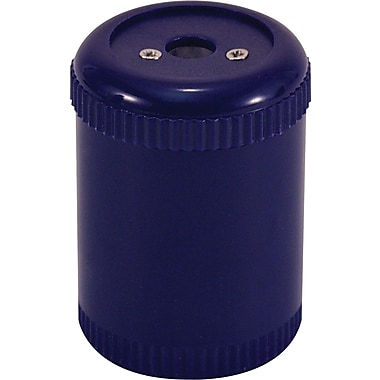 Officemate Handheld Pencil And Crayon Sharpener , Navy Blue