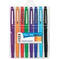 Paper Mate® Point Guard® Flair® Pen, Medium Felt Tip, Assorted, 8/Set