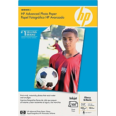 HP Advanced White Photo Papers