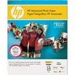 HP Advanced Photo Paper, White, 8 1/2in.(W) x 11in.(L), 25/Pack