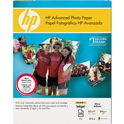 HP Advanced Photo Paper, White, 8 1/2(W) x 11(L), 25/Pack