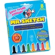 Mr. Sketch  Scented Watercolor Marker, Chisel Tip, Assorted, 8/Set