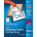Avery® 88127 White Shipping Label, 5 1/16in.(W) x 7 5/8in.(L), 10/Pack