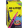 HI-LITER® Pen Style Highlighter, Chisel Tip, Assorted, 24/Pack