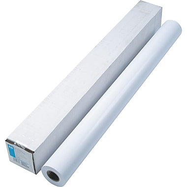 HP Designjet Large Format Instant-Dry Semi-Gloss Photo Paper, White, 42in.(W) x 100'(L), 1/Roll