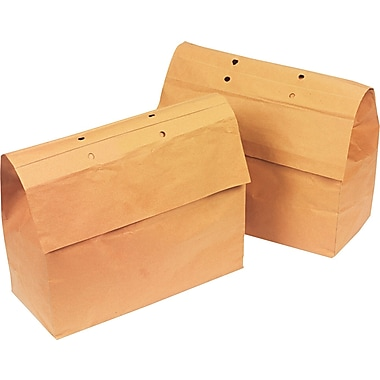 Swingline ® ShredMaster ® Kraft Paper Recycling Bag, 8 gal, 11in.(H) x 14 1/2in.(W) x 6 3/5in.(D)