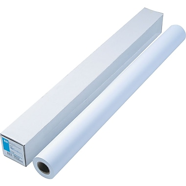 HP Designjet Large Format Universal Bond Paper, White, 42in.(W) x 150'(L), 1/Roll