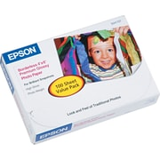 "Epson Premium Borderless Photo Paper, 4""x6"", Glossy Finish"