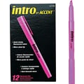 Paper Mate  Intro Highlighter, Chisel Tip, Fluorescent Pink