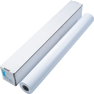 HP Designjet Large Format Paper, White, 36in.(W) x 100'(L), Each