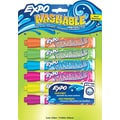 EXPO ® Washable Dry Erase Marker, Bullet Tip, Assorted, 6/Pack