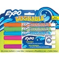 EXPO ® Washable Dry Erase Marker, Fine Point, Assorted, 6/Pack