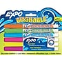 Expo Washable Dry Erase Marker, Fine Point, Assorted,