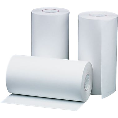 PM Company® Direct Thermal Printing Cash Register/POS Paper Roll, 1 1/2in.(W) x 40'(L), 10/Pack