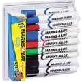 Marks-A-Lot® Desk Style Dry Erase Marker, Chisel Tip, Assorted, 24/Pack