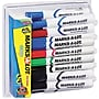 Marks-A-Lot® Desk Style Dry Erase Marker, Chisel Tip,