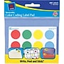 Avery ® 45472 Paper Label Pad, Assorted, 3/4(Dia),