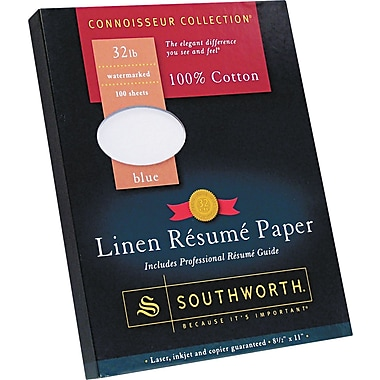 southworth 100 cotton premium weight linen resume paper
