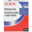 Xerox  Collated Index Divider, White, 9in.(W) x 11in.(L), 250 Sets/Ctn