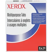 Xerox  Collated Index Divider, White, 9(W) x 11(L), 250 Sets/Ctn