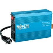Tripp Lite PowerVerter ® 375 W Ultra-Compact Power Inverter, 12 VDC Input, 120 VAC Output, 2 Outlets
