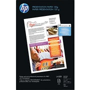 "HP Glossy Color Laser Presentation Paper, White, 11""(W) x 17""(L), 250 / Pack"