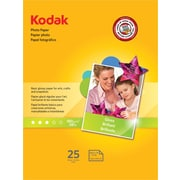 "Kodak Photo Paper, White, 8 1/2""(W) x 11""(L), 25/Pack"