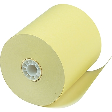 PM Company® Canary Direct Thermal Printing Cash Register/POS Paper Roll, 3 1/8