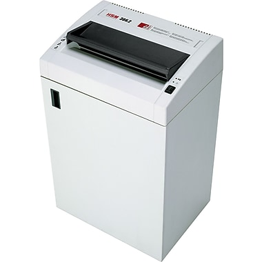HSM of America 386.2 Professional Heavy-Duty Shredder, 24 Sheet Capacity, 24 ft/min Speed