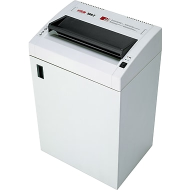 HSM of America 386.2CC Professional Heavy-Duty Shredder, 18 Sheet Capacity, 26 ft/min Speed