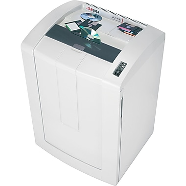 HSM of America 390.3 Professional Continuous-Duty Shredder, 42 Sheet Capacity, 25 ft / min Speed