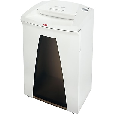 HSM of America SECURIO® B32c Continuous-Duty Shredder, 19 Sheet Capacity, 13 ft/min Speed