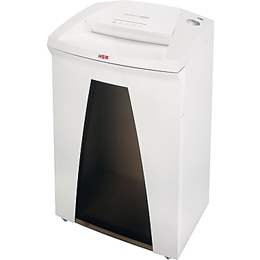 HSM of America SECURIO® B32cL4 Heavy-Duty Shredder, 13 Sheet Capacity, 13 ft/min Speed
