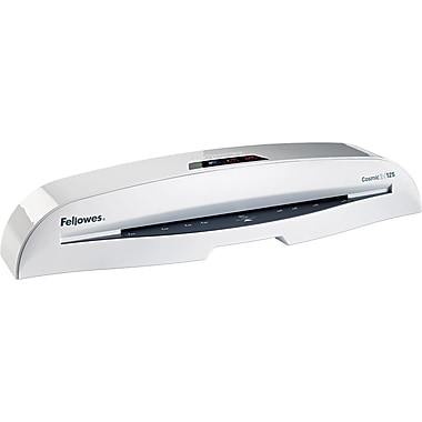 Fellowes® Cosmic™ CL Series Laminator, 12 1/2in. Wide, White, Up To 3 mil (T) Pouch