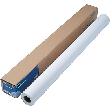 Epson  Double Weight Matte Paper, White, 44in.(W) x 82'(L), Roll