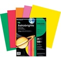 ASTROBRIGHTS® Color Paper, 8 1/2in. x 11in., 24 lb., 5-Color Assortment, Vintage, 500/Ream