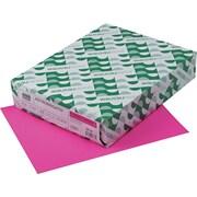 ASTROBRIGHTS® Cardstock, 8 1/2 x 11, 65 lb., Fireball Fuchsia, 2000/Carton