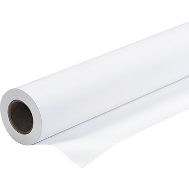 PM Company ® Amerigo ® Wide-Format Check-24 Inkjet Paper, White, 24in.(W) x 150'(L), 1/Roll