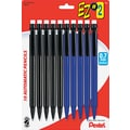 Pentel  EZ#2  Mechanical Pencil, HB-Soft, 0.7 mm (Dia), No. 2 Lead, Assorted Barrel, 10/Pack