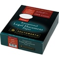 Southworth® 100% Cotton Legal Document Paper, White, 8 1/2in.(W) x 11in.(L), 500/Box