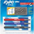 EXPO ® Click Dry Erase Marker Starter Set, Fine Point, Assorted, 3/Set