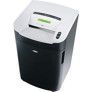 Swingline ® LX20-30 Continuous-Duty Shredder, 20 Sheet Capacity, 21 ft/min Speed