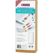 "Smead® SmartStrip® 66004 Color-Coded Refill Label Kit, 1 1/2""(W) x 7 1/2""(L), 250/Pack"