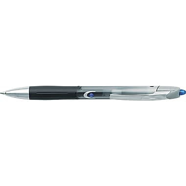 BIC  Triumph  537RT Retractable Gel Roller Ball Pen, 0.5 mm Fine, Blue, Dozen