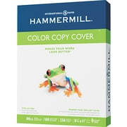 Hammermill  Color Copy Digital Cover Stock, Photo White, 8 1/2(W) x 11(L), 250 Sheets