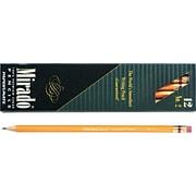 Paper Mate ® Mirado Woodcase Pencil, HB-Soft, No. 2 Lead, Yellow Barrel, Dozen